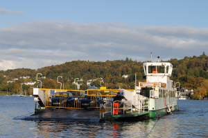 Windermere Car Ferry, October 2012